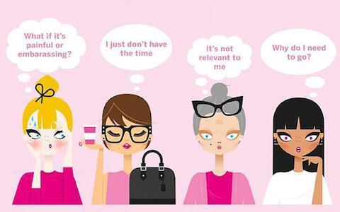 Cervical cancer awareness poster