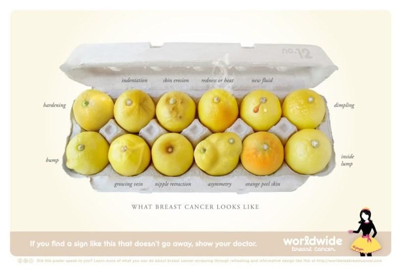 What breast cancer looks like