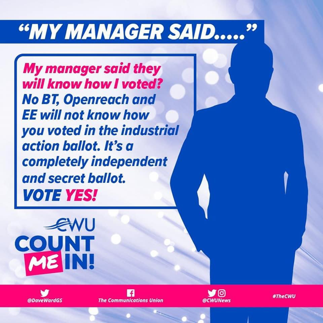 my manager said…